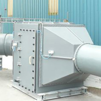 carbon odour control unit